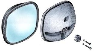 Зеркало САКД 458201.030 наружное дополнительное заднего вида