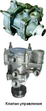 6024-3522010 клапан управления тормозами прицепа