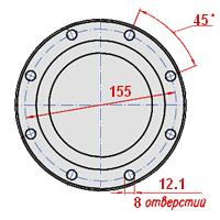 500А-2201049-30 фланец МАЗ, КрАЗ