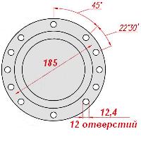540-2208049-11 фланец Белаз
